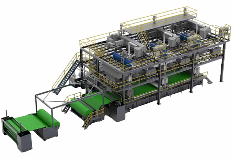 sms non woven production line