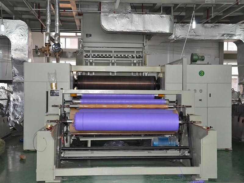 winding machine of non woven production line